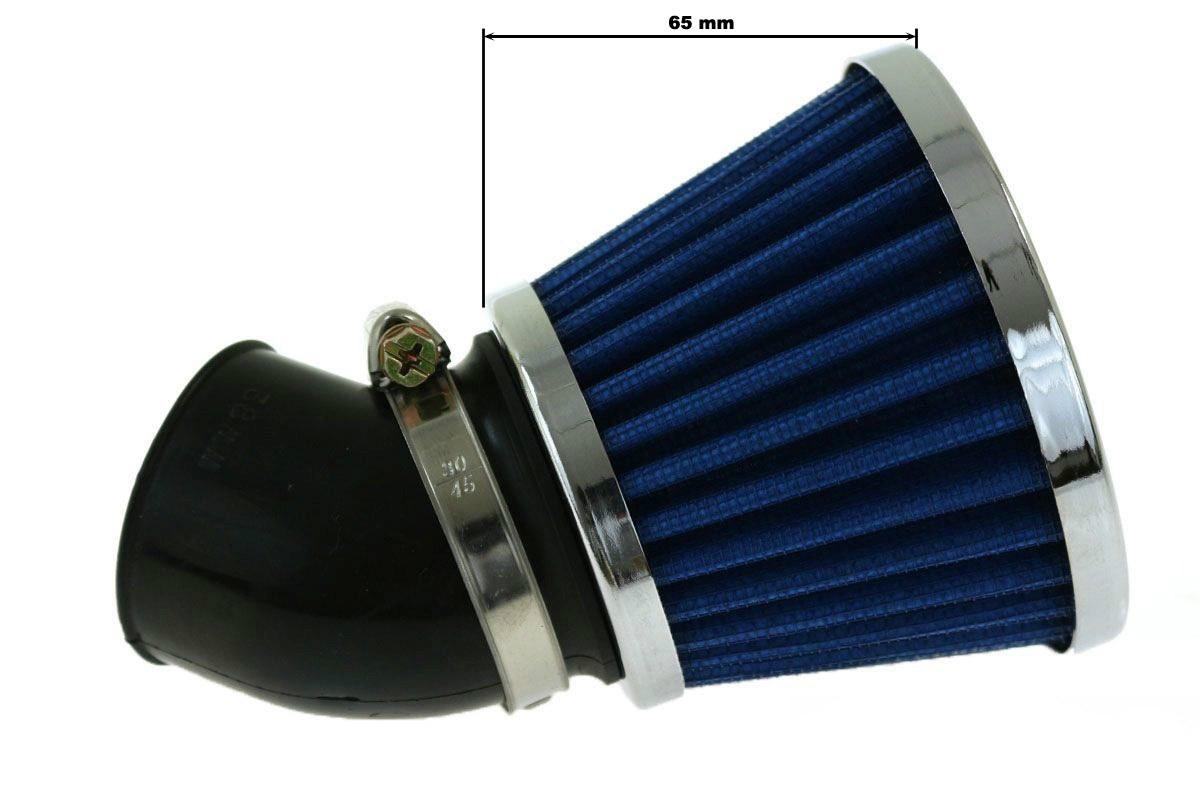 Moto Filtr stożkowy SIMOTA 45st 28mm JS-9209-3 - GRUBYGARAGE - Sklep Tuningowy
